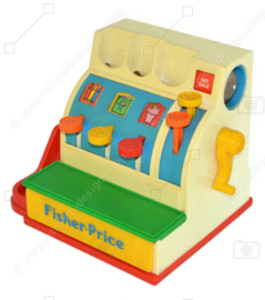 Vintage Fisher Price Cash Register, speelgoedkassa