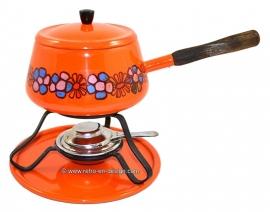 Vintage Brabantia jaren '70 fondue stel 'Diana'