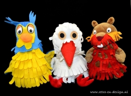 """Hand puppets TV series """"The Daily Fable"""""""