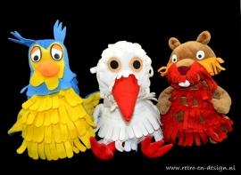 marionnettes Le petit echo de la Forêt