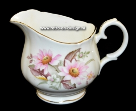 Pot à lait en porcelaine, Duchess. Bone china England