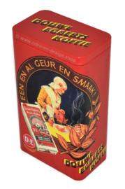 Lata de café retro nostálgico de Douwe Egberts