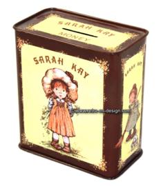 Blikken spaarpot, Sarah Kay