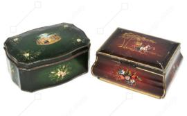 Set von zwei Vintage Blechdosen von Douwe Egberts für Pickwick Tea