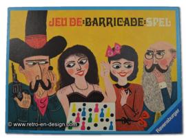Barricade bordspel (voor 6 spelers) • Ravensburger • 1970