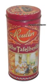 Vintage beschuitbus 75 jaar Van der Meulen