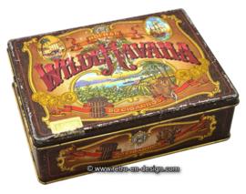 Vintage Hofnar cigars tin Wild Havana