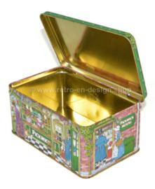 La maison Pickwick. Boîte à thé vintage par Douwe Egberts pour le thé Pickwick