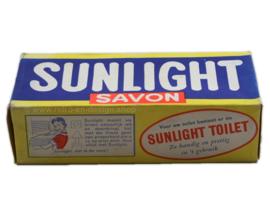 Echte originele Sunlight zeep in vintage verpakking