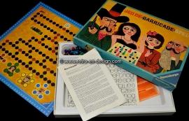 Jeu de BARICADE spel. Van Ravensburger uit 1970