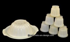 Tupperware puddingvorm set 'Jel-N-Serve'