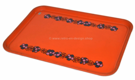 Vintage Brabantia 70s serving tray, Diana pattern
