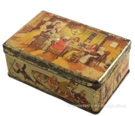 "Vintage tin ""Brood & Banketbakkerijen J.J. Janse Wz Rotterdam"""
