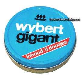 Vintage blikje Wybert Gigant