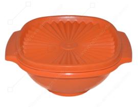 Orange Tupperware Servalier Schüssel