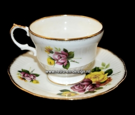 """Rosina"" Fine Bone China. Cup and saucer"