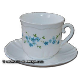 Arcopal Veronica, Teacup or Soup bowl with saucer
