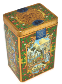 Vintage coffee tin by Albert Heijn, coffee roasters since 1895