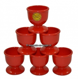 EMSA egg cups red 70s. Practica