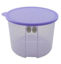 Tupperware FridgeSmart large round storage box