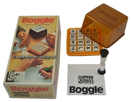 Boggle wordgame by Clipper