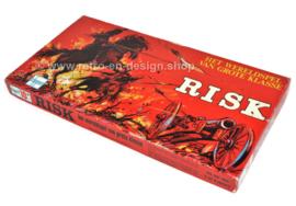 Clipper, vintage spel RISK in rode doos, het wereldspel van grote klasse
