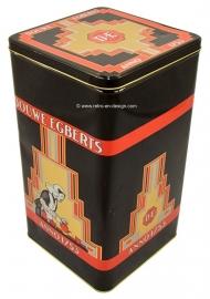 Douwe Egberts Anno 1753. Große Blechdose für Kaffee