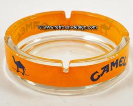 Vintage glass ashtray 'Camel'