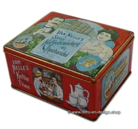 Boite étain nostalgique par Van Nelle's Stoom Koffiebranderij en Theehandel