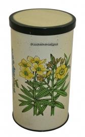 Boîte a biscuit avec décor floral