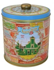Tin retro Jar by Albert Heijn 1887