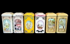 """Juego completo de latas """"De Ruijter"""" vintage!"""