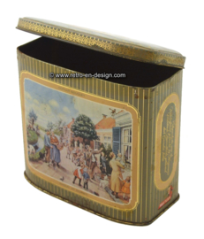 Vintage Hofnar Blechdose für Zigarren