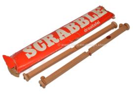 Vintage Scrabble Holzdrehteller in Originalverpackung