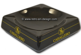 Vintage ceramic Caballero ashtray