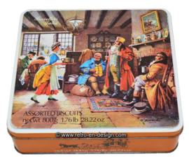 Vintage koektrommel, Travelers Tales assorted biscuits
