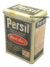 Retro tin Persil