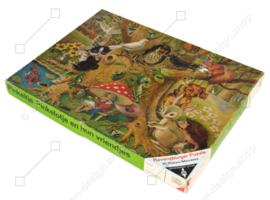 Vintage puzzle van Ravensburger; Pinkeltje, Pinkelotje en hun vriendjes 80 stukjes
