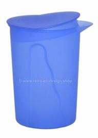Vintage blauwe Tupperware Impressions sapkan / waterkan
