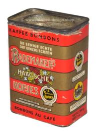 Lata éstaño vintage Rademaker's Haagse Hopjes
