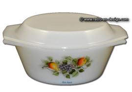 Casserole ou cocotte Arcopal Fruits de France, Blue Band Ø 17,5 cm