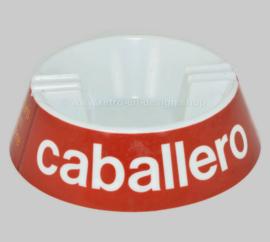 Cenicero vintage de melamina de plástico para Caballero