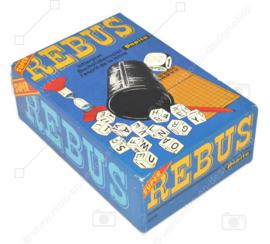 Vintage spel Super Rebus van Papita uit 1978