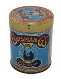 Vintage blikje of busje voor Buisman Koffiestroop