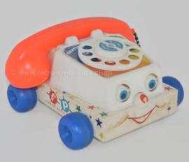 """Téléphone jouet Vintage Fisher-Price """"Chatter"""" de 1961"""