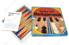 Backgammon TricTrac Puff 1974 Ravensburger