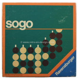 Vintage game, SOGO by Ravensburger