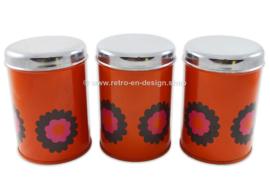 Set of three Brabantia tins, Design Patrice