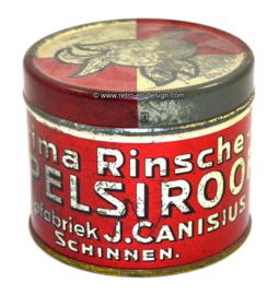 Vintage blik siroopfabriek J. Canisius