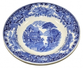 Decorative plate. Petrus Regout & Co Maastricht. Castillo